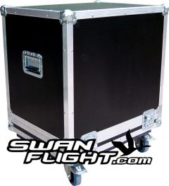 Yamaha DXS15 Bass Speaker Flightcase