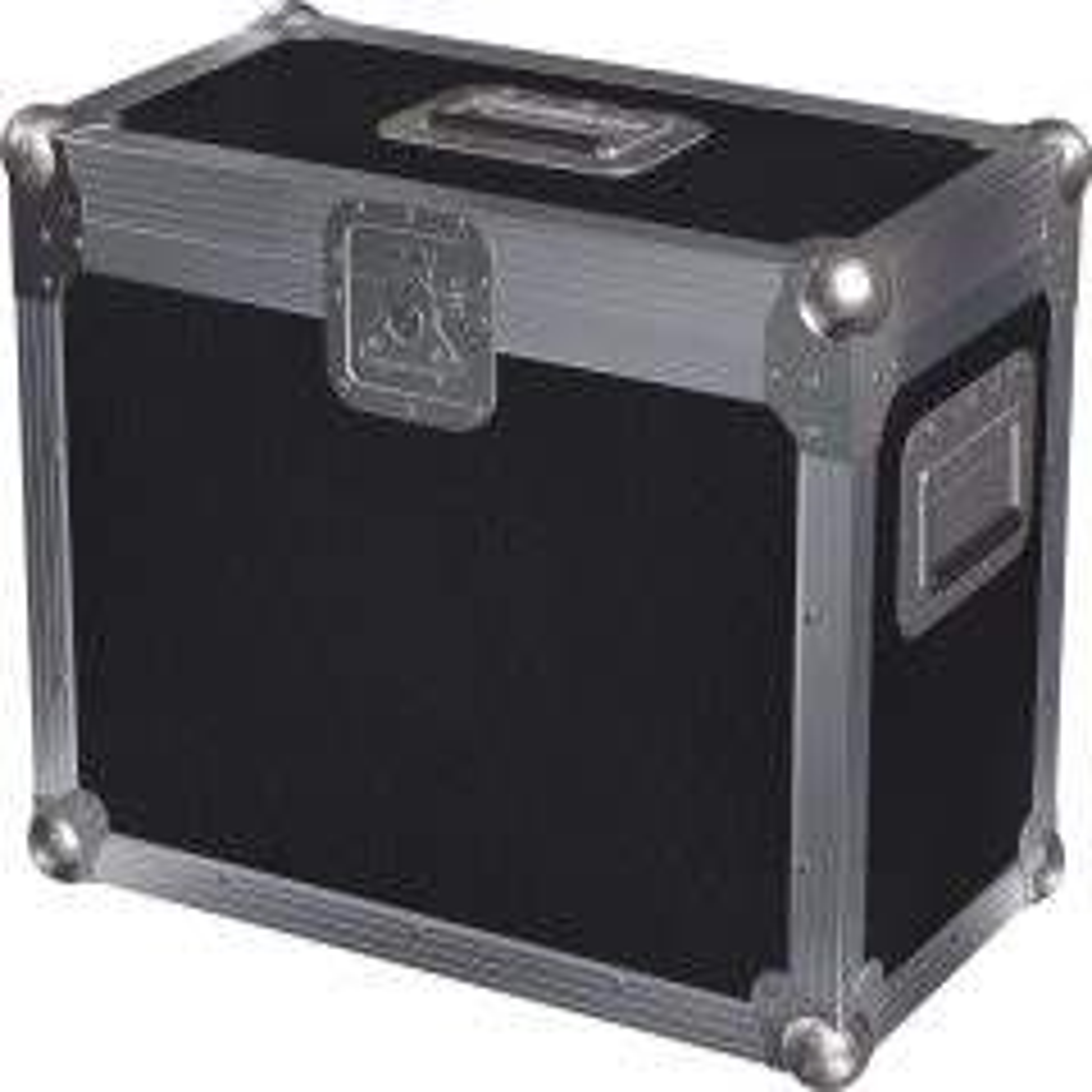 Chauvet Intimidator Spot 255IRC holds 2 flightcase
