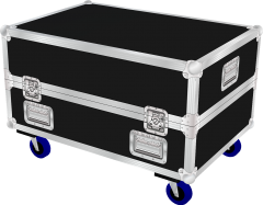 D&B M12-4 monitor flightcase