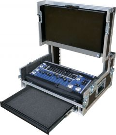 Chamsys MagicQ PC Wing Compact Workstation 1U Below Flightcase