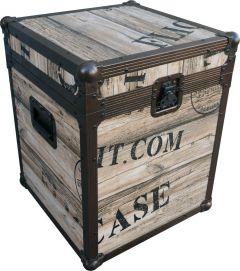Retro Decorative Trunk Case 442mm x 442mm x 560mm (H)