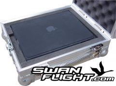 Apple iPad Carry case flightcase open