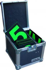 Open Pit Board Numbers FLightcase