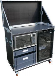 Fridge and Microwave Hospitality Flightcase