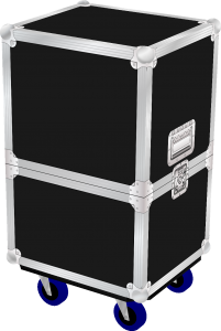 Yamaha DXR15 Speaker Flightcase With Castors