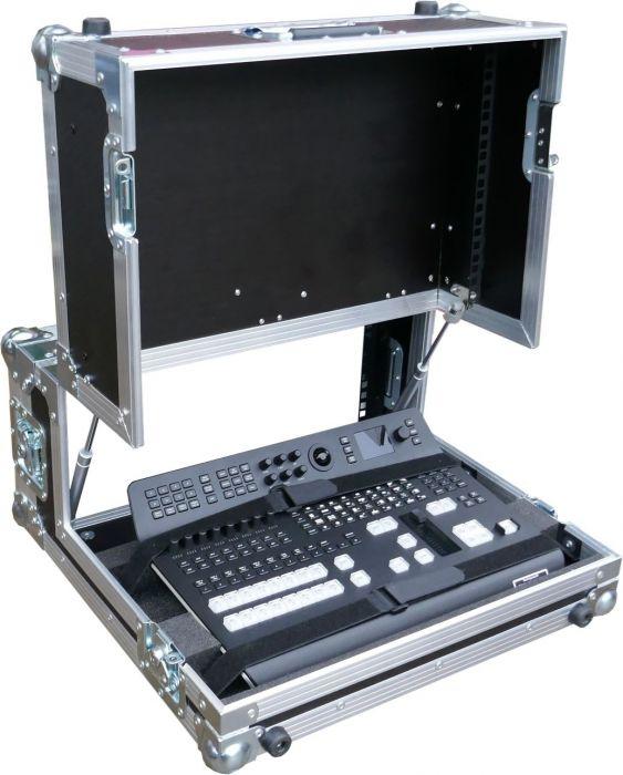 Blackmagic Design Atem Television Studio Pro Hd With 19 Rack Monitor Flightcase Swanflght