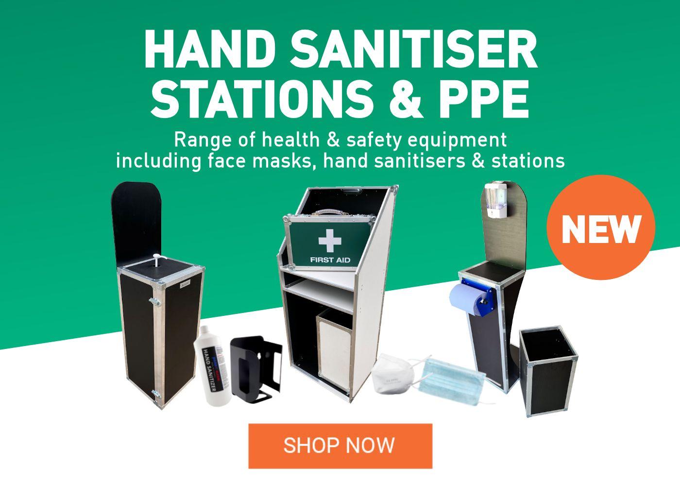 Hand Sanitiser Stations PPE