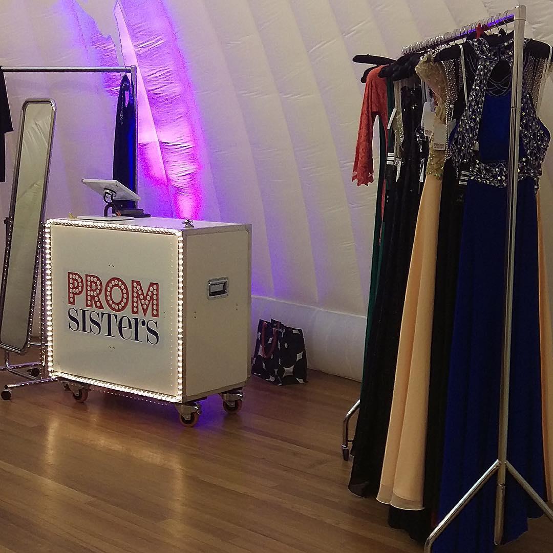 Prom Sisters Retail Flightcase