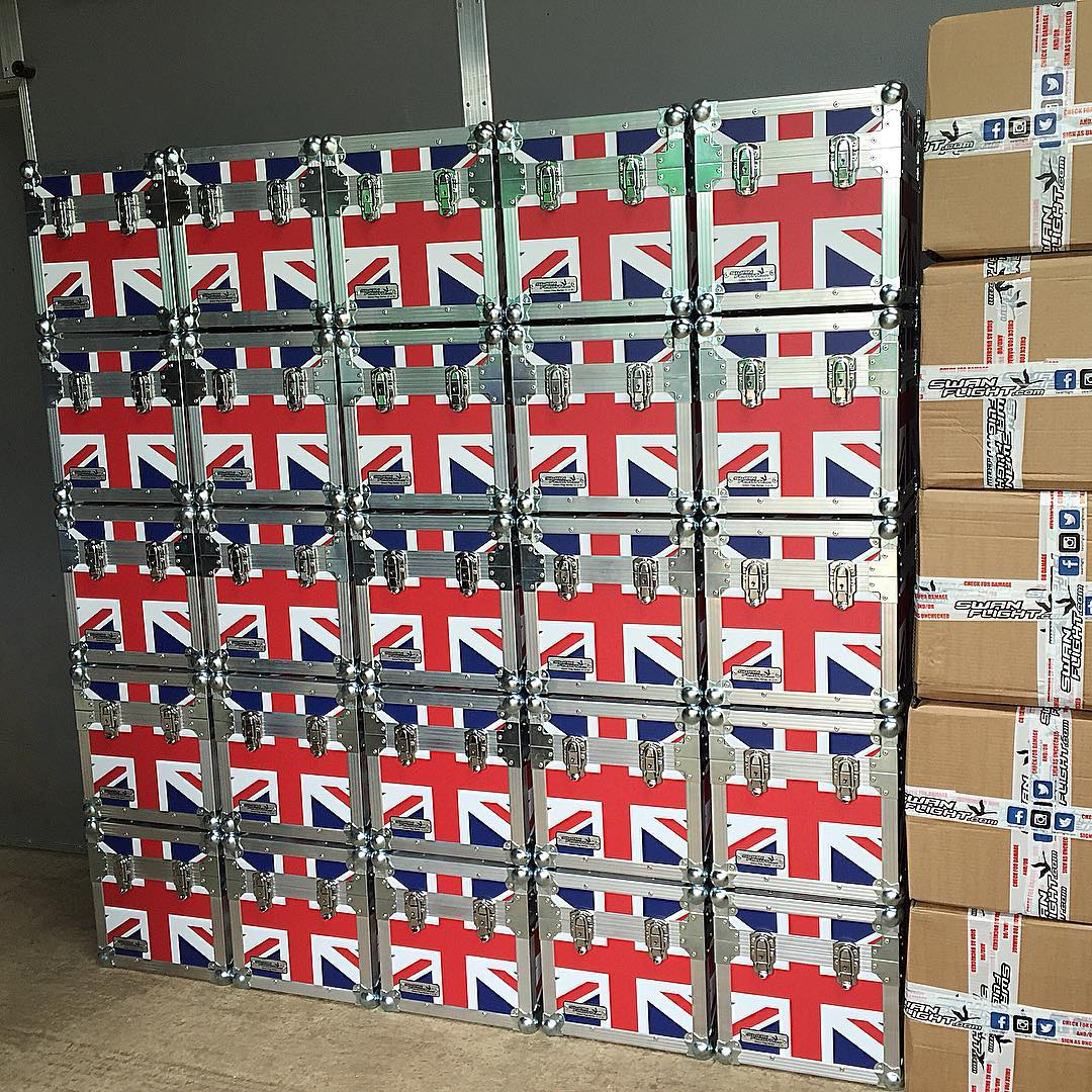 Union Jack Flightcase