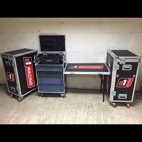 B1 Racing Tool Box Flightcases