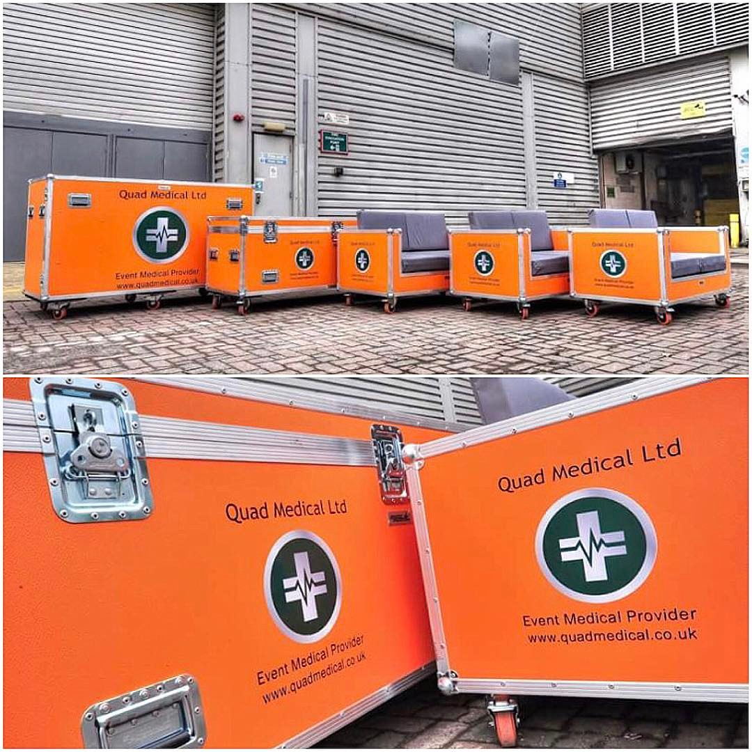 Quad Medical Group Flightcases