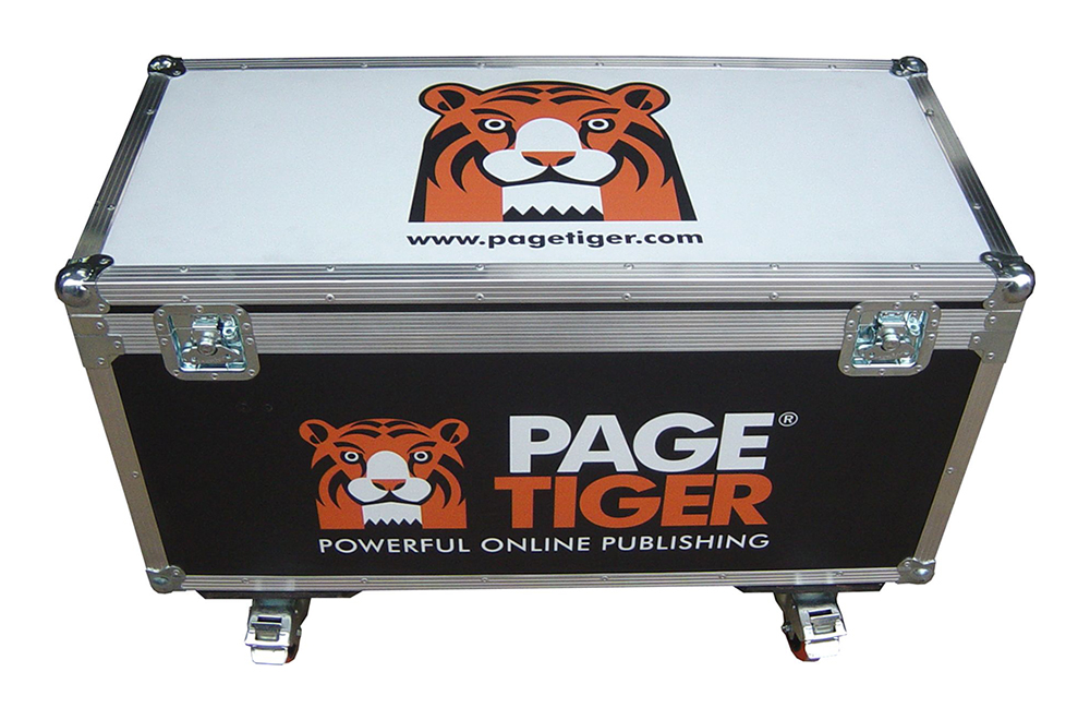 Page Tiger Training Flightcase