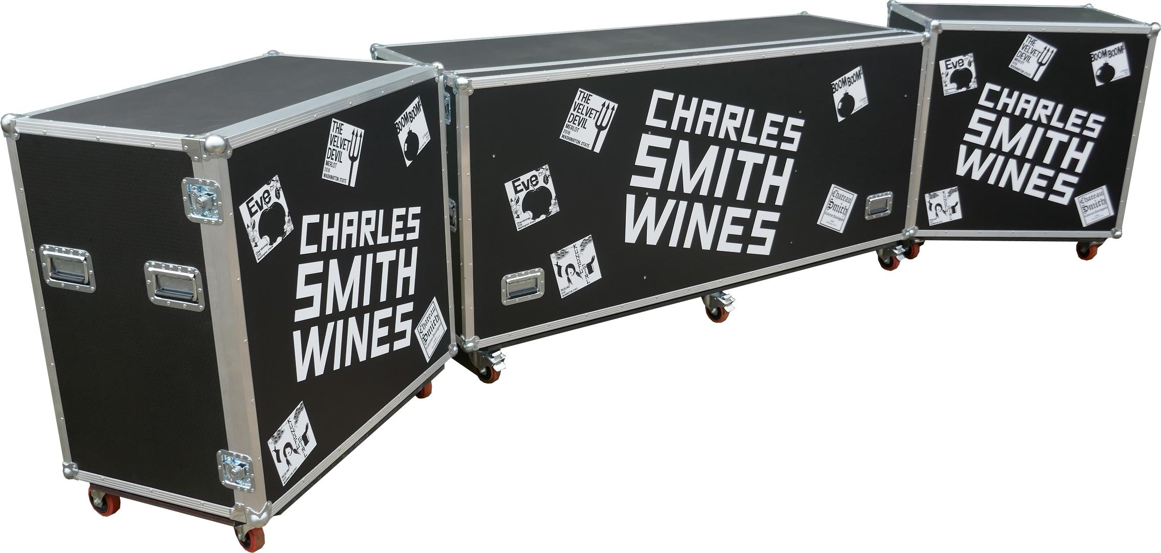 Charles Smith Wine Cases